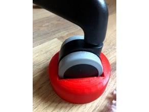 Chairwheel stopper
