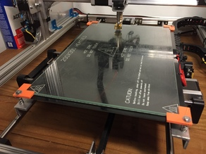 3D Print Bed Glass Corner Clips