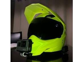 Gopro mount for Gmax helmet