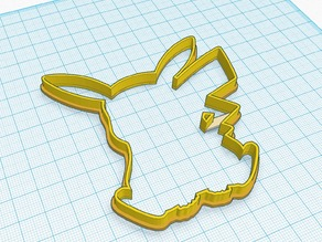 Pokemon - Pikachu Cookie Shape Cutter