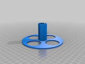 My Customized Improved Taulmann Size Filament Spool Organizer