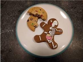 Gingerbread Man Anatomy