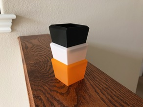 Vase Mode Stackable Container