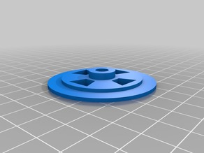 45 RECORD ADAPTER FOR MOUSETRAP CAR WHEEL