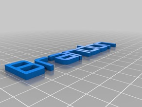 Brandon name tag for ctc printer
