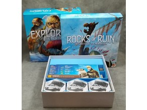 Karve - Board game Insert for Explorers of the North Sea and Rocks of Ruin Expansion