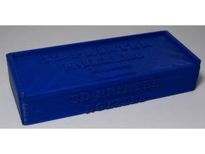 3D Printer Nozzle Box