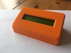 16x1 LCD Case