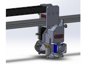 Folgertech FT-5 Head Design - Bondtech BMG Extruder, E3D V6, BLtouch