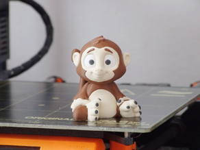 Sims the Monkey (multi-material)