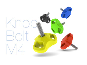 Knob Bolt M4