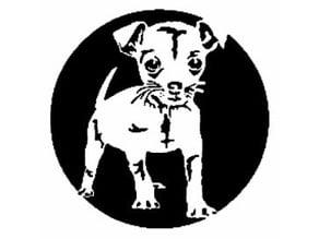 Puppy stencil