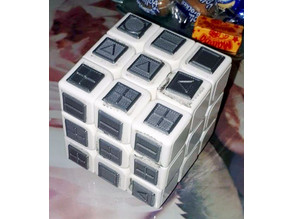 """""""Stickers"""" for rubiks cube for blind people"""