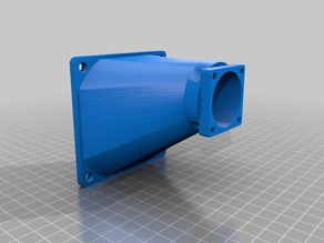 80mm to 40mm fan adapter for Velleman K8200