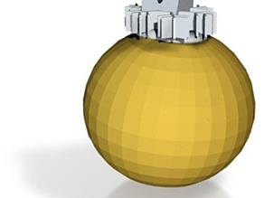 gold xmas decoration