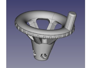 Z-axis adjustment knob