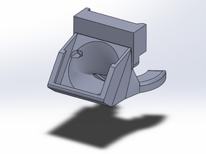 Support and Fan duct for Solidoodle 4 (with new extruder)