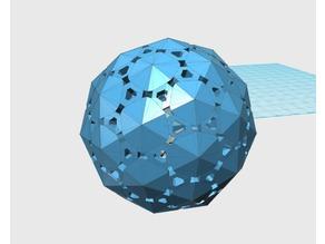 Geodesic2V Sphere pattern202