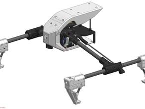 3D Printable DJI Inspire V1.5