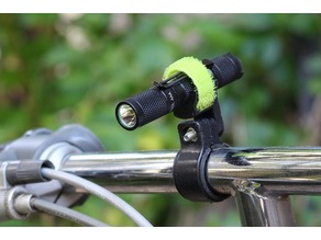Bicycle Mount Holder for AAA Flashlight