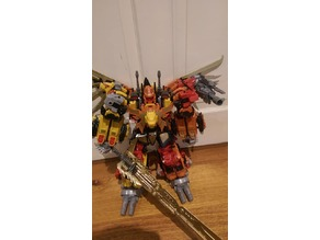 Jinbao Feral Rex (Predaking) shoulder mount