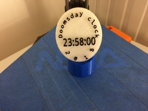 Horloge de l'apocalypse / Doomsday clock
