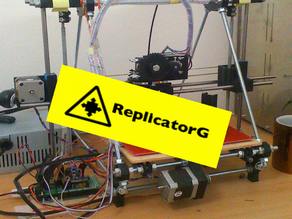 ReplicatorG for Reprap
