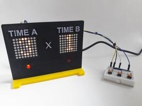 Electronic Scoreboard using Arduino