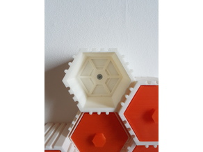 The HIVE - Module with wall mount back