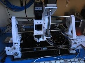 Gantry microscope movement system