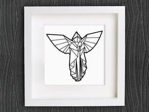 Customizable Origami Angel
