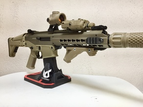 Custom Airsoft Gun Display Stand