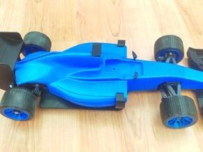 Formula 1 Car with 1/18 Motor