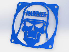 Skull Marine fan grill 120mm