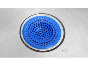 Customizable Geodesic Kitchen Sink Drain Strainer