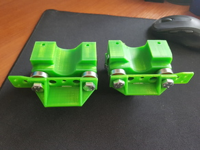 Drag chain mount for MPCNC F(25mm)