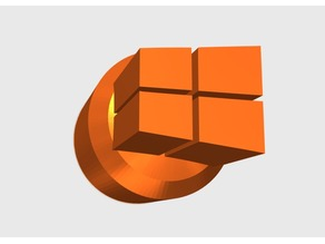 Windows 10 3d printer Knob