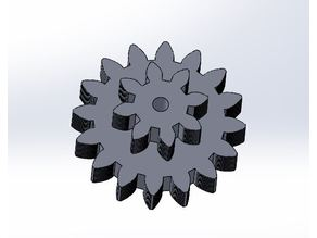 16 Tooth, 8 Tooth Compound Gear