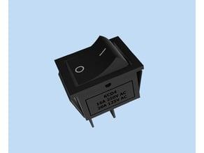 Model - KCD4 (Rocker Switch)