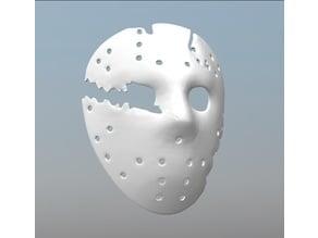Jason Goes To Hell Hockey Mask