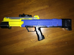 Nerf Rival Apollo Pump Conversion and stock