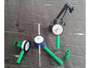"""Dial Indicator (Gage, Gauge) 1"""" and 2"""" Spindle Protective Sheaths"""