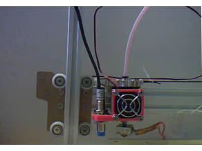Anet A2 Prusa i3 30mm fan mounted proximity sensor holder