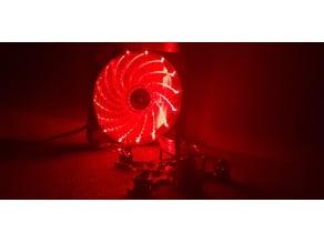 solder fan plate