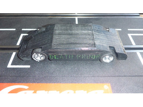 Slot car chassis: DeathProof