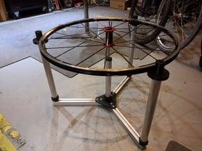 Wheel lacing jig