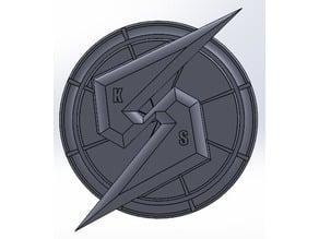 Metroid Prime/Screw Attack Logo 2D Art