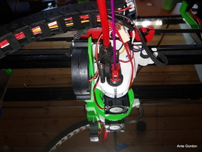 Zesty nimble X-carriage for Tronxy X5s or other 2020 v-slot CoreXY