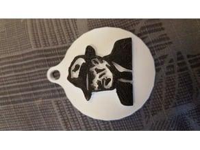 TCM Gangster Keychain