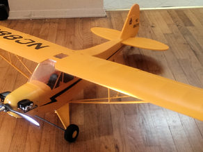 Hobbyking / Starmax Piper J3 Cub 1400mm Replacement Parts